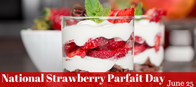 national-strawberry-parfait-day-june-25